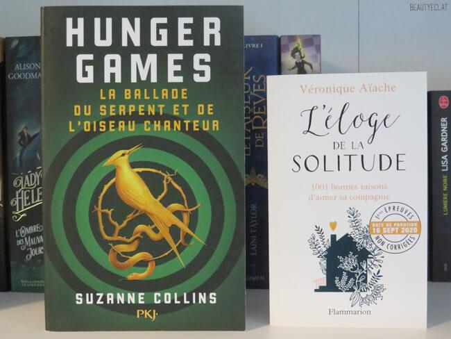 livres a lire septembre 2020 hunger games