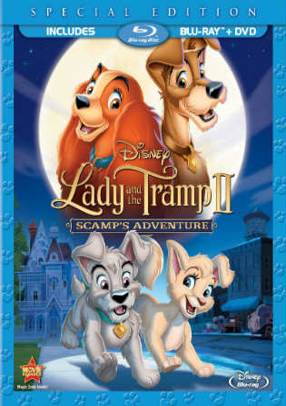 Lady and The Tramp 1955 BluRay 400MB Hindi Dual Audio 720p