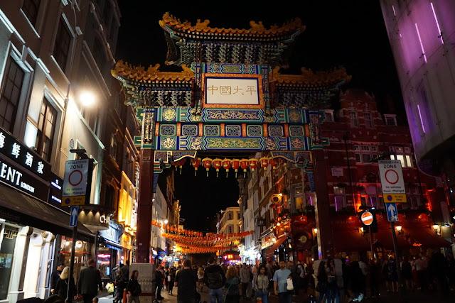 Chinatown em Londres