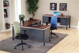 Mesa Series Heavy Duty Office Desks by OFM