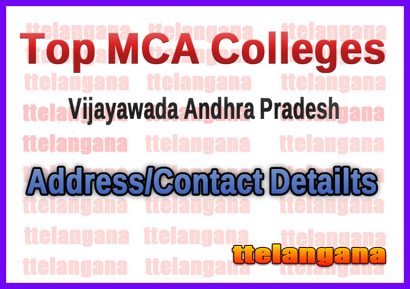 Top MCA Colleges in Vijayawada Andhra Pradesh