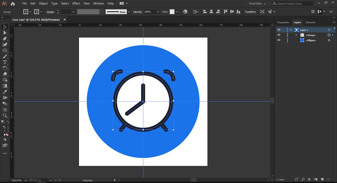 Tahap 8: Membuat Kaki Jam