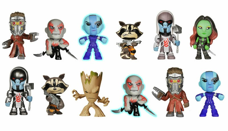Guardians of the Galaxy Mystery Minis Blind Box Series by Funko