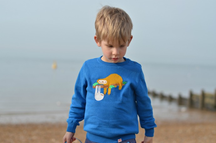 sloth jumper, tootsa macginty, unisex kids clothing