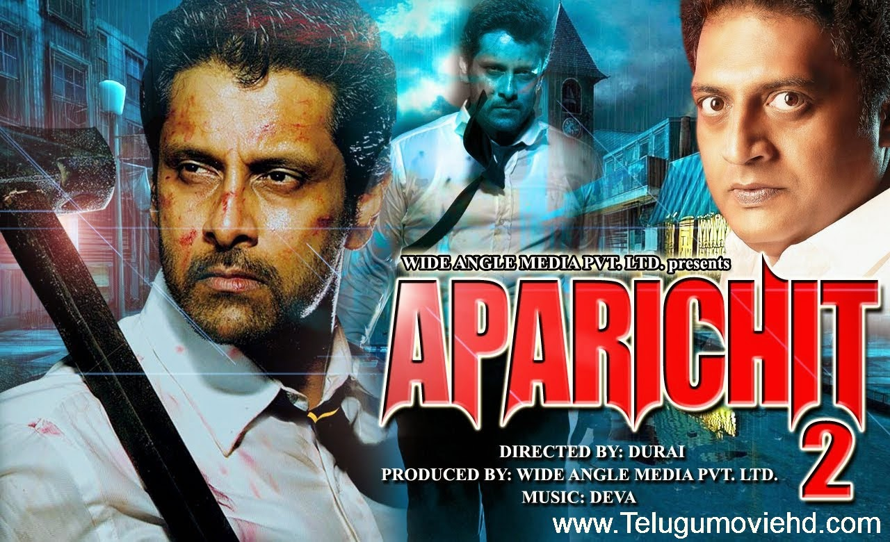 Telugumoviehd.com: Aparichit 2 (2014) hindi dubbed HD Movie