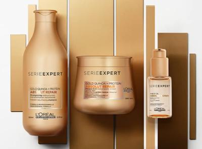 L'Oréal Professionnel Serie Expert Absolut Repair Shampoo+Masque For Healthy Hair