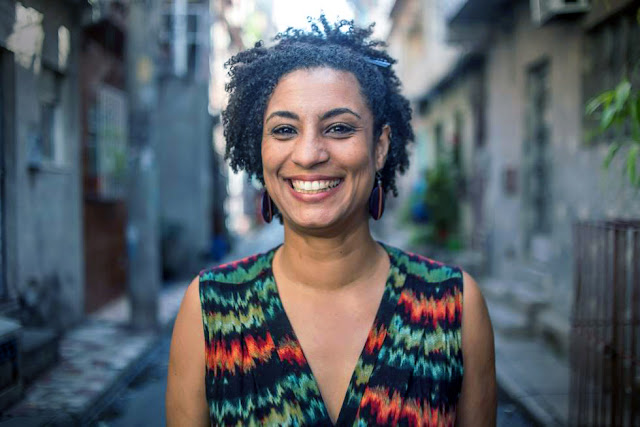 Marielle Franco, vereadora do PSOL