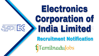 ECIL Recruitment notification 2021, govt jobs for iti, govt jobs for diploma, central govt jobs