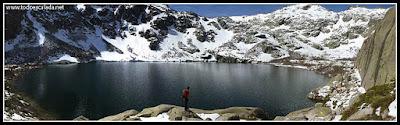 Lac di Melo, Restonica, Córcega