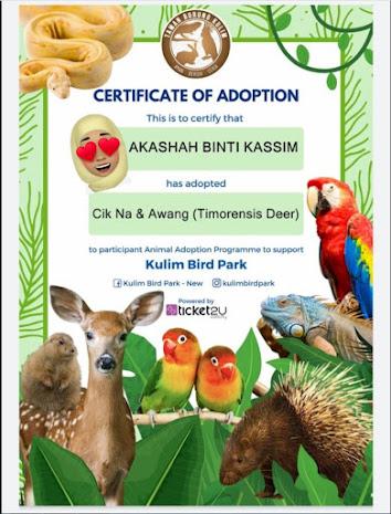 Program haiwan angkat @ Kulim Bird Park