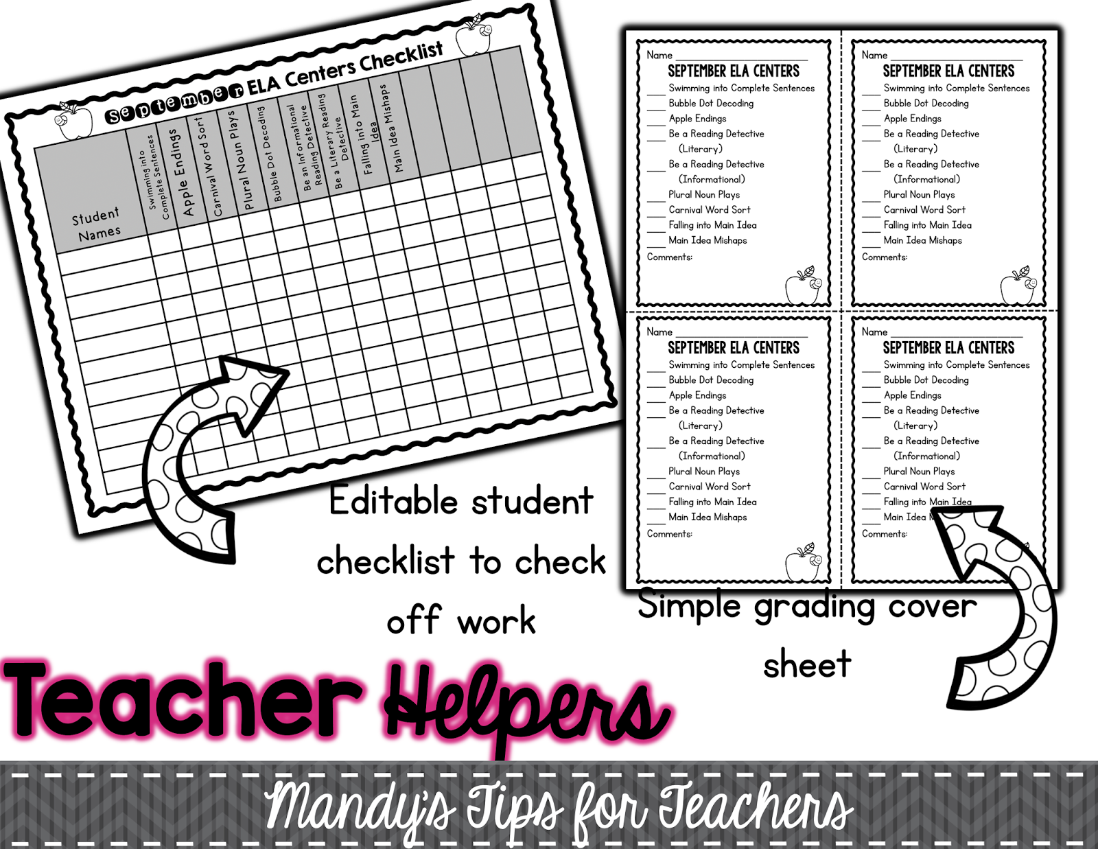 Differentiating ELA Centers the EASY Way