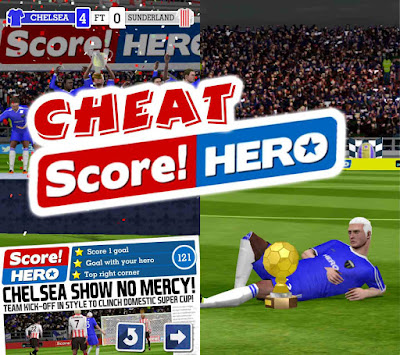 cheat score hero unlimited money dan unlimited energi