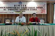 Pertajam Kinerja Dan Pelayanan, Setwan DPRD Sulut Gelar Bimtek