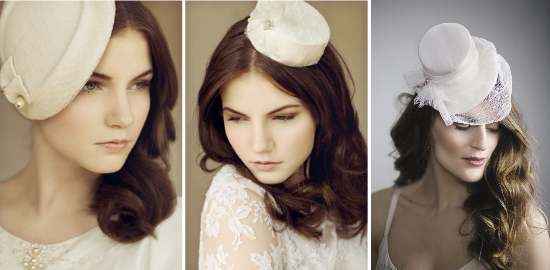 Maggie Mowbray bridal millinery