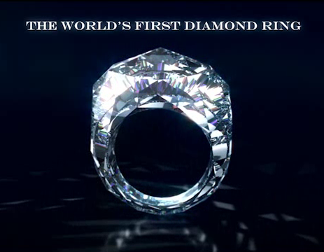 Remember That Worlds First All Diamond Ring I Do So Heres