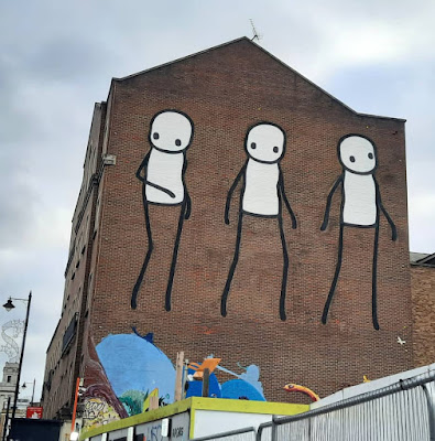 Stik - Shoreditch London street art