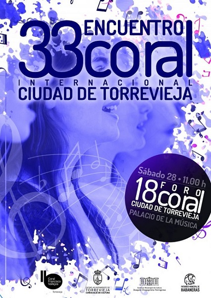 Encuentro de Coros en el Auditorio Internacional de Torrevieja