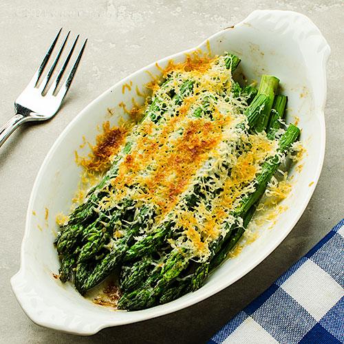 Asparagus with Parmesan