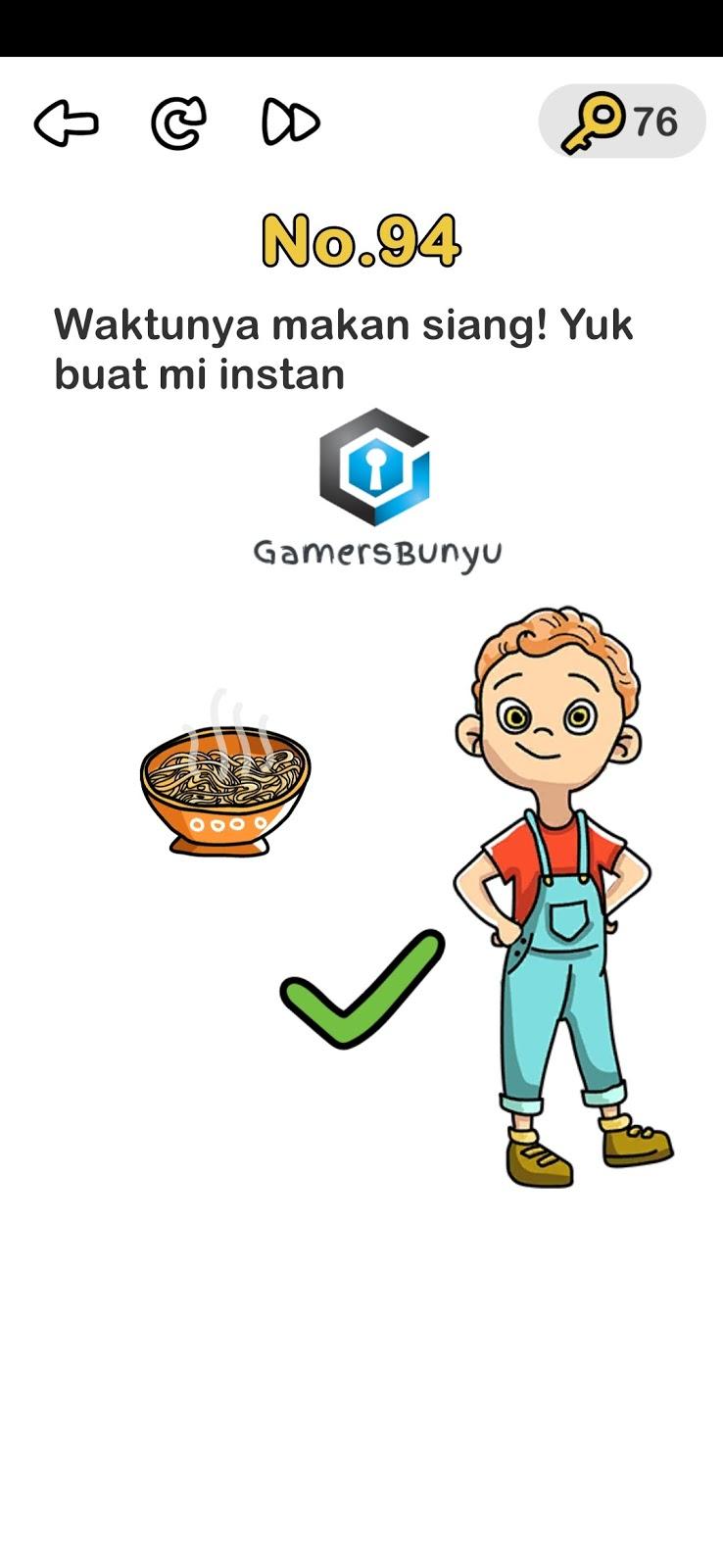 Jawaban Brain Out Level 91 92 93 94 95 96 97 98 99 100 Gamers Bunyu