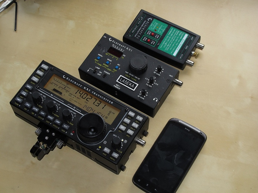 LA5EKA - Amateur Radio Blog: Elecraft KX3