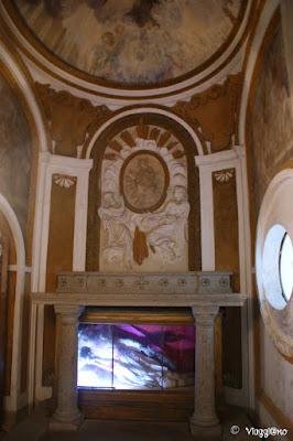 La Cappella e il corpo di San Moderato nel Palazzo Orsini di Bomarzo