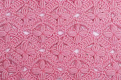 2 - IMAGEN Puntada de flores a crochet y ganchillo. Fácil y sencillo. MAJOVEL CROCHET