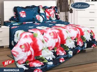 Sprei california motif Magnolia