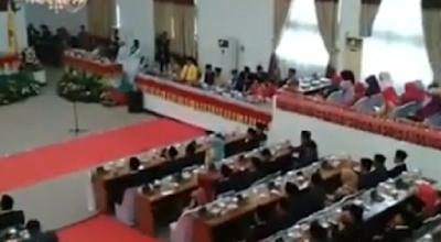 Anggota DPRD Lampung Tengah Dilantik, FSMM Minta Dewan Perhatikan Masyarakat Adat