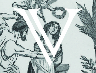 Lettrine V Victoire
