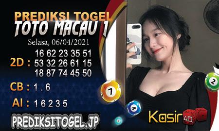 Prediksi Kasir4D Togel Macau Selasa 06 April 2021