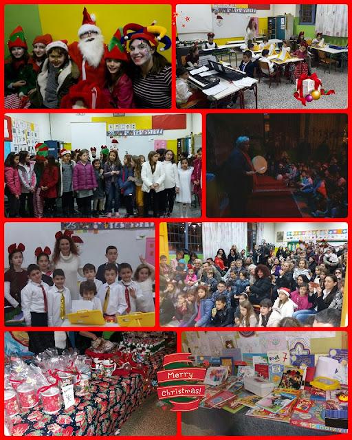 Xριστουγεννιάτικη γιορτή και bazzar του Συλλόγου Γονέων του 5ου Δημοτικού Σχολείου Ναυπλίου