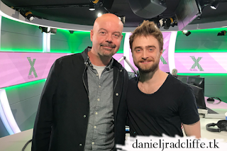 Daniel Radcliffe on Radio X's The Chris Moyles Show