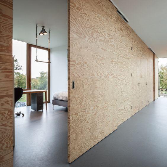Bridoor s l puertas de madera correderas y pivotantes - Puertas correderas madera ...