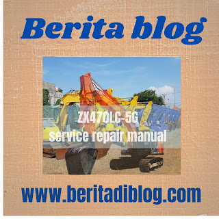 Hitachi ZX470LC-5G service repair manual