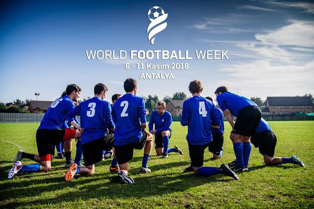 Tüm dünyadan amatör futbolcular Antalya'da sahaya çıkıyor