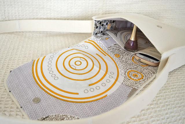 текстильная сумка ручной работы