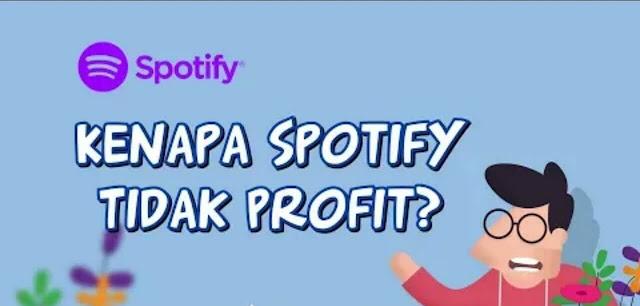 Spotify terus Rugi meski jadi Nomor 1 Dunia
