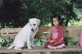 Kim Hyang Gi kecil Di Film Hearty Paws