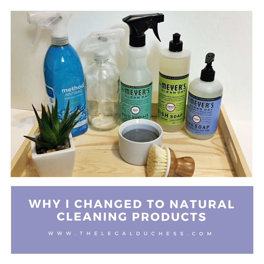 Why I Changed To Natural Cleaning Products The Legal Duchess - Natural cleaning products for bathroom