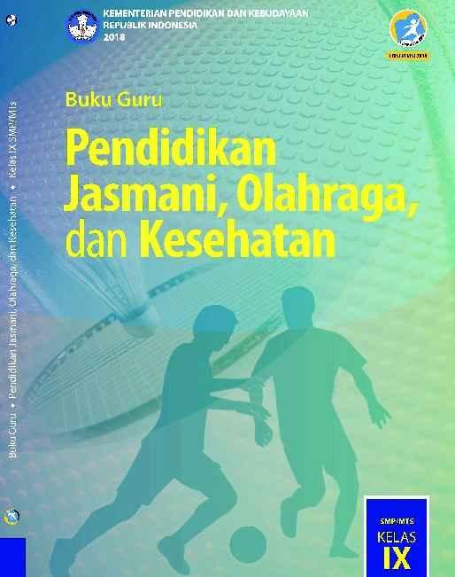 Buku PJOK Kelas 9 Revisi 2018 - Buku Guru