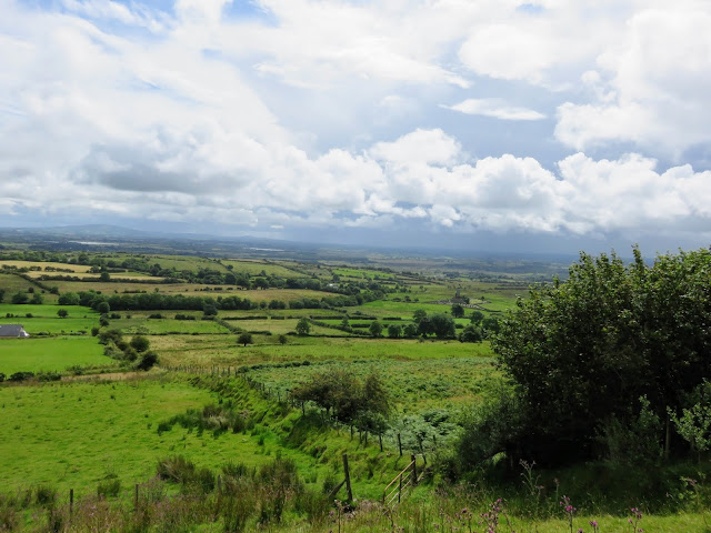 Views from Knocknashee in Sligo Ireland