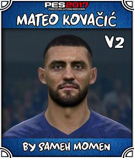 PES 2017 Faces Mateo Kovacic by Sameh Momen