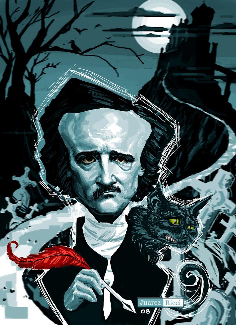 Plenty of Poe for Halloween. Edgar Allan Poe Poems, Art ...