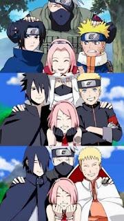 sasuke and Team 7