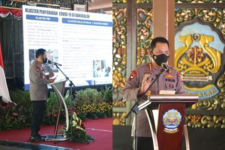Panglima TNI dan Kapolri Rangkul Tokoh Agama Untuk Tekan Covid-19 di Bangkalan