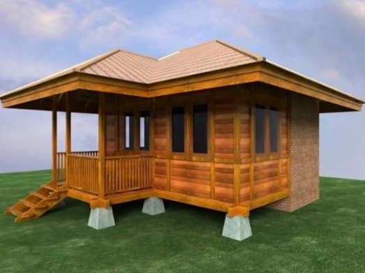 Koleksi Desain Rumah Kayu Model Terbaru