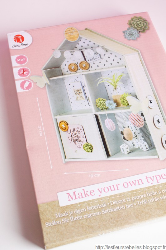 Kit mini maison rose