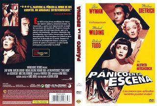 Carátula dvd: Pánico en la escena (1950) (Stage Fright)