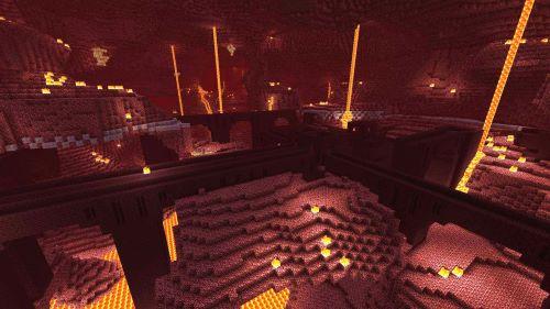 Pháo đài Nether bền bỉ là một trong những vị trí bạn gian truân lòng bỏ qua