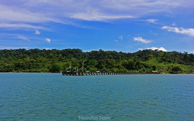 Pemandangan tak kalah menarik di Pulau Nusakambangan dari Segara Anakan